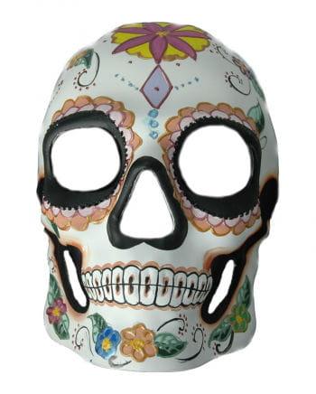 Day of the Dead Skull Mask Flower