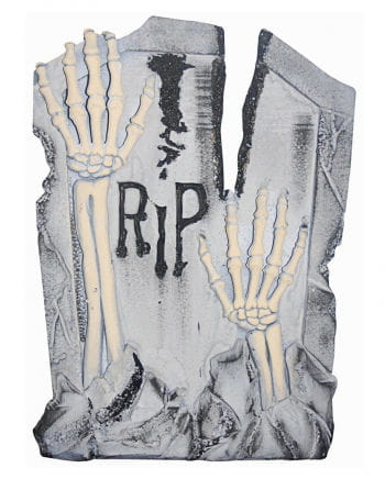 Grabstein R.I.P. Skelettarme