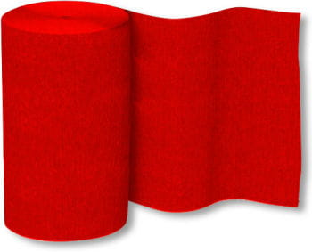 Crepe Paper Roll Red