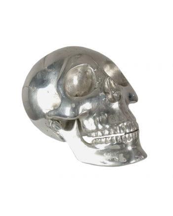 Deko Totenkopf klein silber
