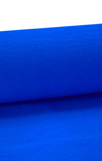 Niflamo decorative crepe blue 50 m