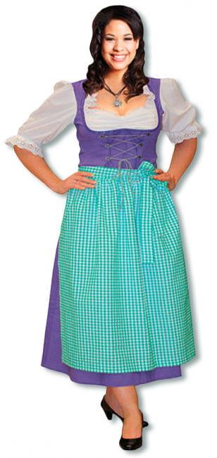Dirndl Kostüm lila Plus Size 44 XXL /44