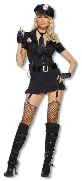 Dirty Cop Costume XL