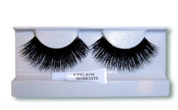 Real Hair Lashes Black/Long/Thick