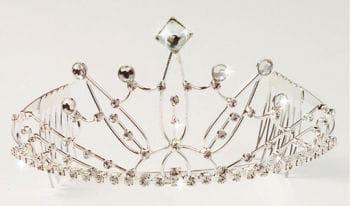 Elegant rhinestone tiara Vicky