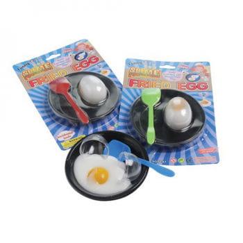Egg and egg fried egg
