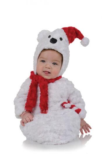 Eisbär Plüsch Baby Kostüm