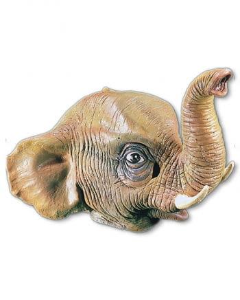 Elefanten Maske aus Latex