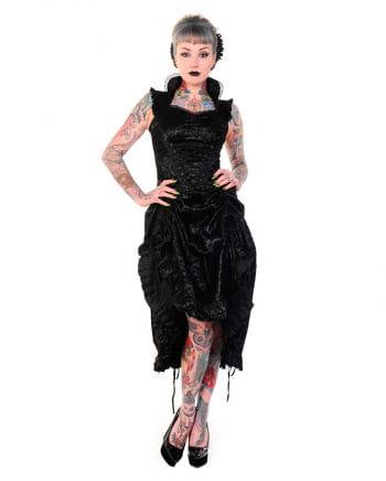 Steampunk Kleid schwarz