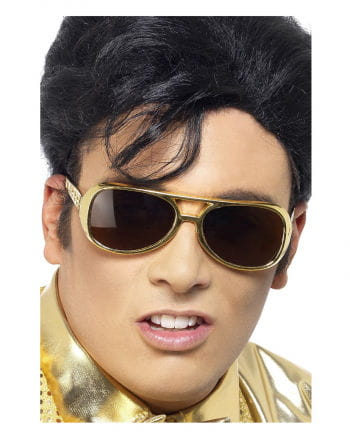 Elvis sunglasses gold