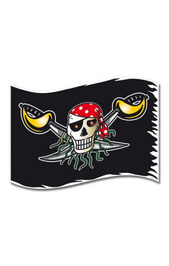 Red Pirate Flag