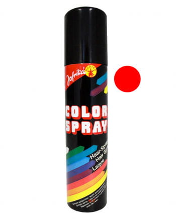 Farbiges Haarspray Rot