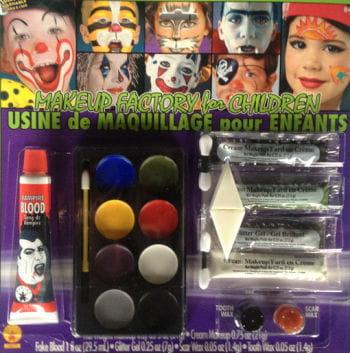 Kids Halloween Makeup Kit