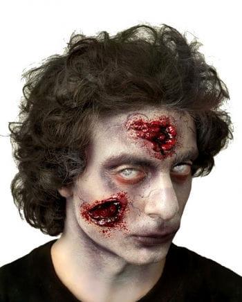 Fester Zombie Wunde