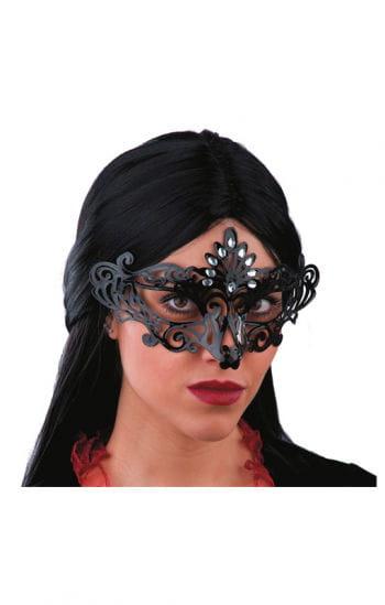 Venezianische Augenmaske schwarz