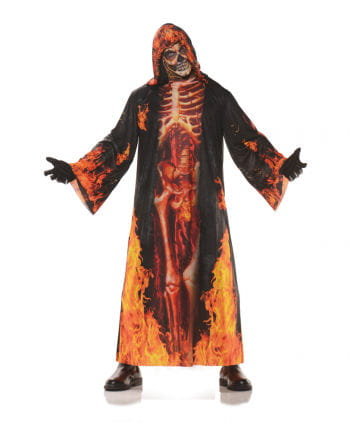 Flame Skeleton Robe