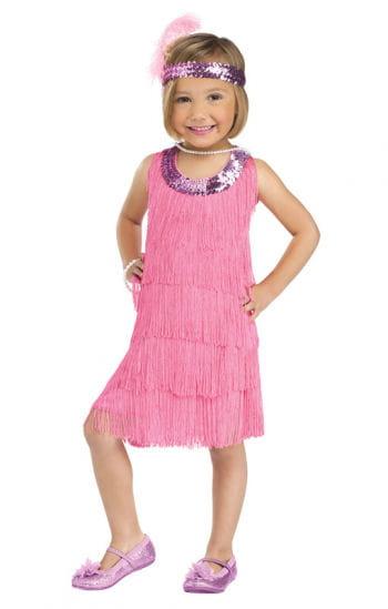 Flapper Girl Kleinkinderkostüm L