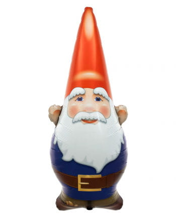 "Foil balloon ""Happy Birthday"" Garden Gnome"