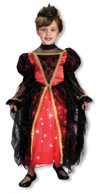 Funkelnde Gothic Prinzessin Kostüm S