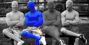Full Body Jumpsuit Blue