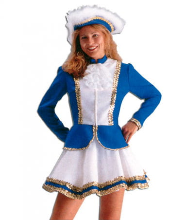 Carnival Guard Costume Blue