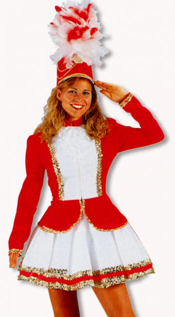 Guard costume red / white M / 38