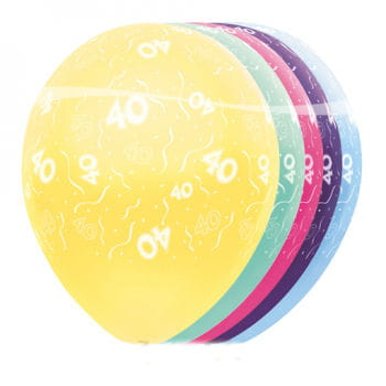 Birthday Balloons 40