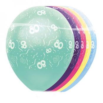 Geburtstag Ballons 80