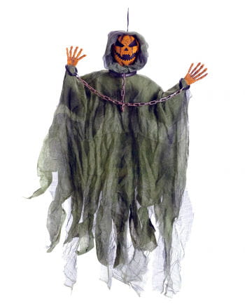 Gefesselter Pumpkin Ghost Hanging Figure 100 cm