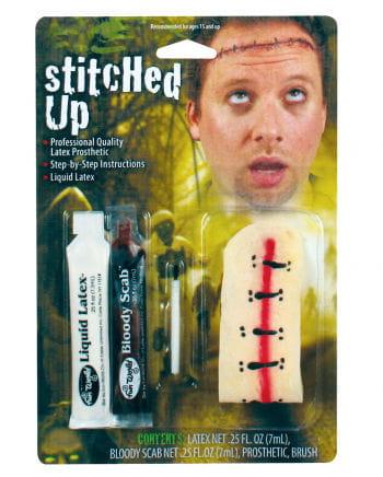 Stitched stab wound Make Up Set