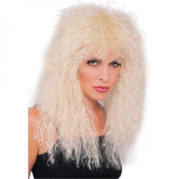 Glam Rock Perücke blond