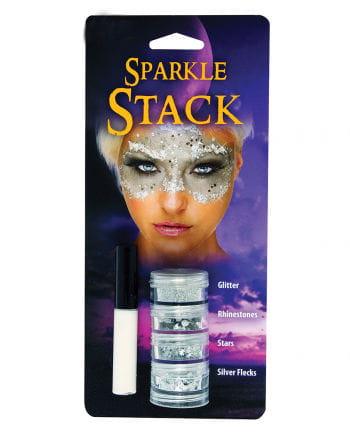 Glitter Stack silver