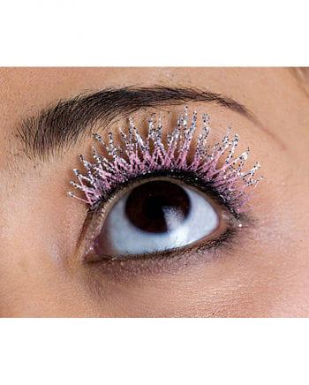 Glitter Eyelashes pink