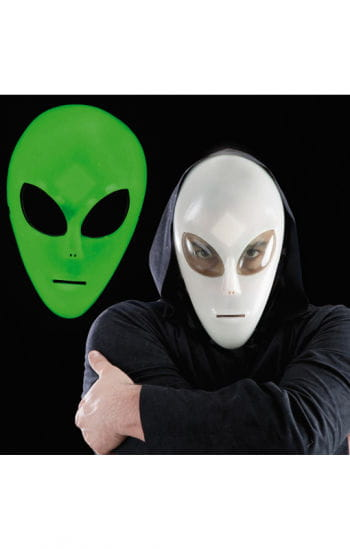 Alien Mask Glow in the Dark