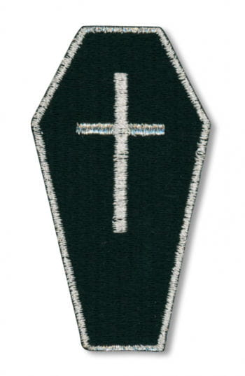 Gothic Patch Coffin