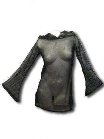 Net shirt with hood