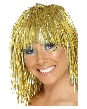 Tinsel Wig Gold