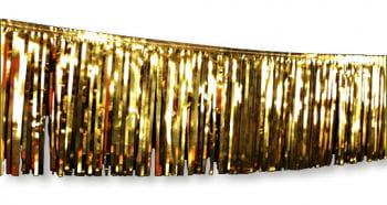 Goldene Weihnachtsgirlande