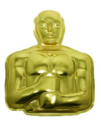 Goldener Oscar Wanddeko