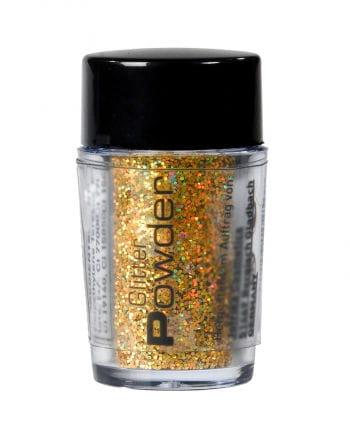 Glitter Powder Gold in the spreader
