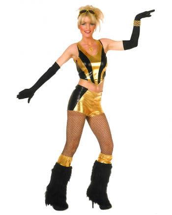 Goldenes Gogo Tänzerin Kostüm