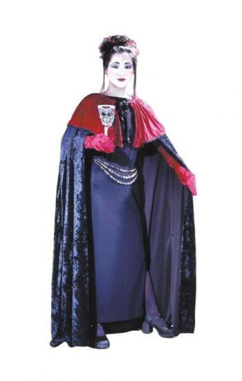 Gothic velvet cape