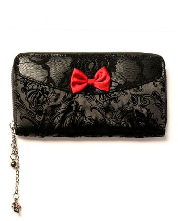 Gothic purse with bow