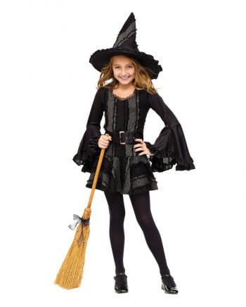 Gothic Witch Child Costume. L