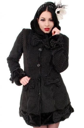 Gothic Mantel Mace mit Kapuze
