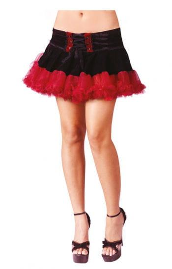 Gothic Pettiskirt Black / Red