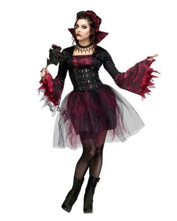 Gothic Rosen Vampirkostüm