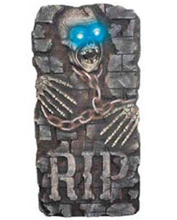 Grabstein Reaper mit LED Augen