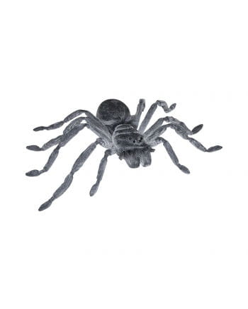 Gray latex giant spider 50 cm