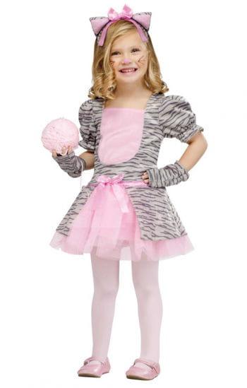 Gray kitten toddler costume